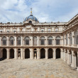 View of  ourtyard of Royal Palace — Stock Photo