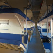 Interior of sleeper train — Stock Photo #27494525