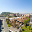 Stock Photo: Wide angle shot of Barcelona
