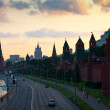 Moscow Kremlin in summer sunset — Stock Photo #27494837