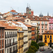 Picturesque view of old city. Madrid — Stock Photo #27495355