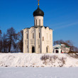 Church of Intercession on River Nerl — Stock Photo #27495507