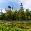 Orthodoxy monastery at Bogolyubovo — Stock Photo #27495693