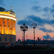 Senatskaya Square at sunset — Stock Photo