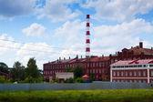 古い建物でイバノボの織物の工場 — ストック写真