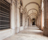Gallery of Royal Palace in Madrid — Stock Photo