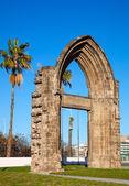 Arc de Sant Adria. Barcelona — Stock Photo