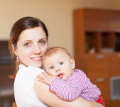 Mother with toddler — Stock Photo