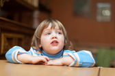 Two-year child in home — Stock Photo