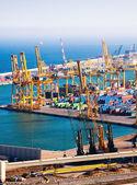 工业港口 de 巴塞罗那 — 图库照片