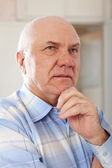 Wistful senior man — Stock Photo