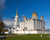 Assumption cathedral at Vladimir in autumn — Foto Stock