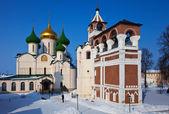 Saviour-Euthimiev monastery at Suzdal in winter — Stock Photo