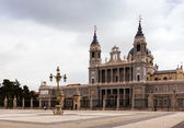Almudena Cathedral. Madrid, Spain — Stock fotografie