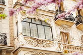 Picturesque house in Madrid in spring — Stockfoto