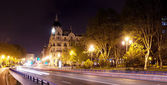 Night view of Madrid — Stock Photo