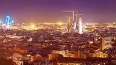 Evening kind of Barcelona — Stock Photo