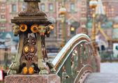 Szczegóły most malo-koniushennyi — Zdjęcie stockowe