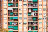 Fachada da casa de residência — Foto Stock
