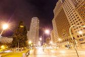 Place d'espagne à madrid dans la nuit — Photo