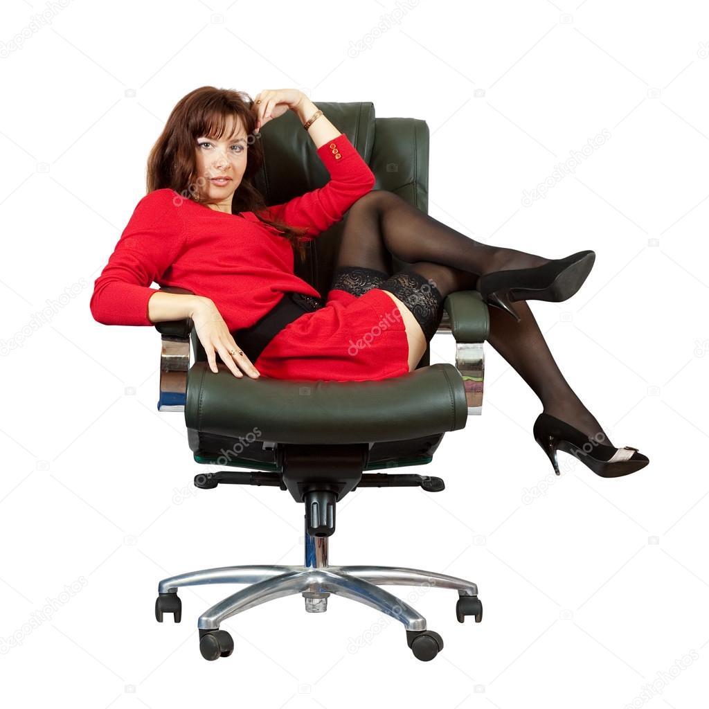 Секс на офисном кресле фото 18 фотография