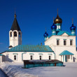 Church at Gorokhovets in winter. Russia — Foto Stock