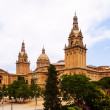 Stock Photo: National Palace of Montjuic in Barcelona