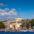 Admiralty building, Saint Petersburg — Stock Photo