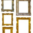 Set of few picture frames — Stock Photo
