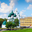 Church of Our Saviour on the Town in Yaroslavl — Stock Photo #28694135