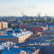 Top view of Saint Petersburg — Stock Photo