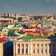 Saint Petersburg from Saint Isaac's Cathedra — Stock Photo