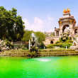 Fountain Cascada at Parc de la Ciutadella — Stock Photo