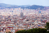 General view of Barcelona cityscape — Stock Photo