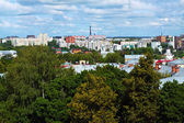 Top view of Vladimir city — Stock Photo