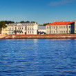 Petersburg. Vasilyevsky Island in summer day — Stock Photo