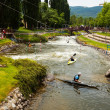 Stock Photo: Parc Olimpic del Segre. LSeu d'Urgell