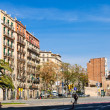Stock Photo: View of Barcelona, Spain. AvingudDiagonal