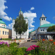 Holy Transfiguration Monastery in Yaroslavl — Stock Photo