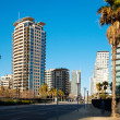 View of Barcelona, Spain. Sant Marti — Stock Photo