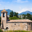 Old church in Besalu — Stock Photo