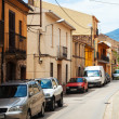 Street in Catalan village. Breda — Stock Photo