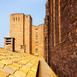 Close up of Castle of Cardona — Stock Photo