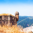 Lookout Tower in medieval castle — Stock Photo