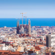 view of Barcelona. Catalonia — Stock Photo