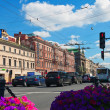 Nevsky Prospect in Saint Petersburg — Stock Photo #30995397