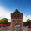 Kremlin street at Nizhny Novgorod in summer. Russia — Stock Photo