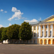 Panoramic view of Yaroslavl -  central square — Stock Photo