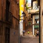 Street of Girona, Spain — Stock Photo