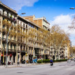 Stock Photo: View of Barcelona. GrVide les Corts Catalanes